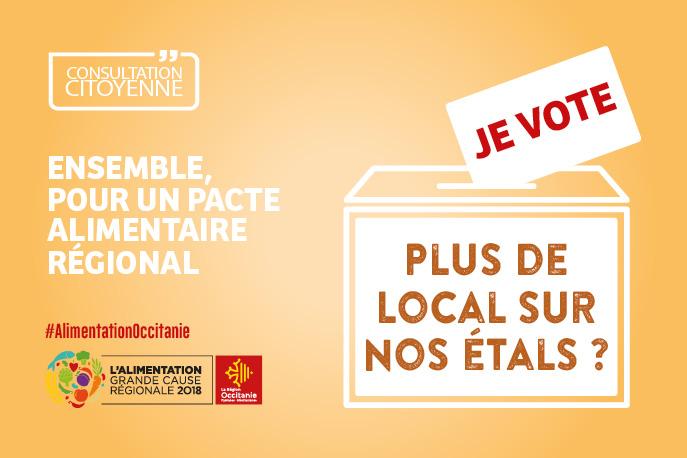 Alimentation en Occitanie : je participe !